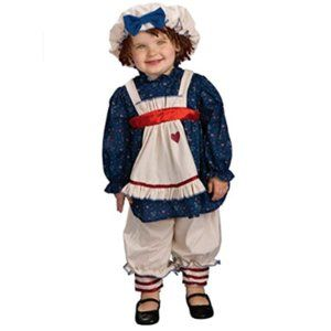 NEW Yarn Babies Ragamuffin Dolly Toddler Costume